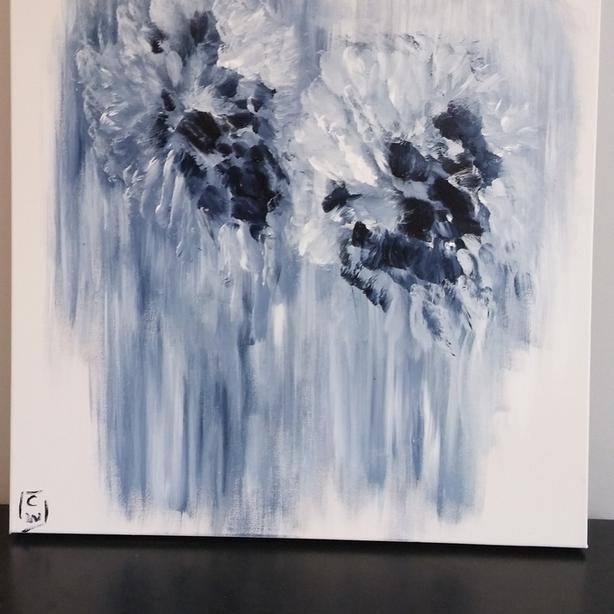 "Original Acrylic Painting on Canvas. 20"" x 20"""