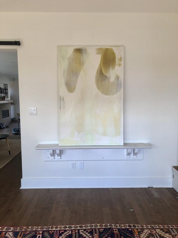 Huge Contemporary Canvas by Known Artist