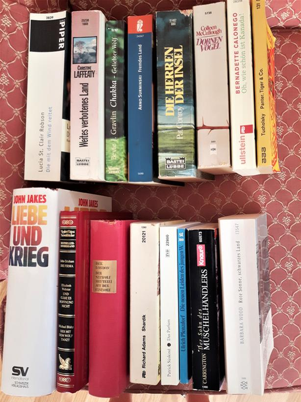 German Books - $0.50 per book only!