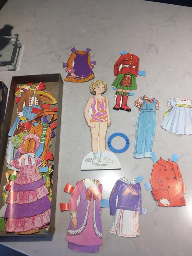 Shirley Temple Paper Doll - 1976