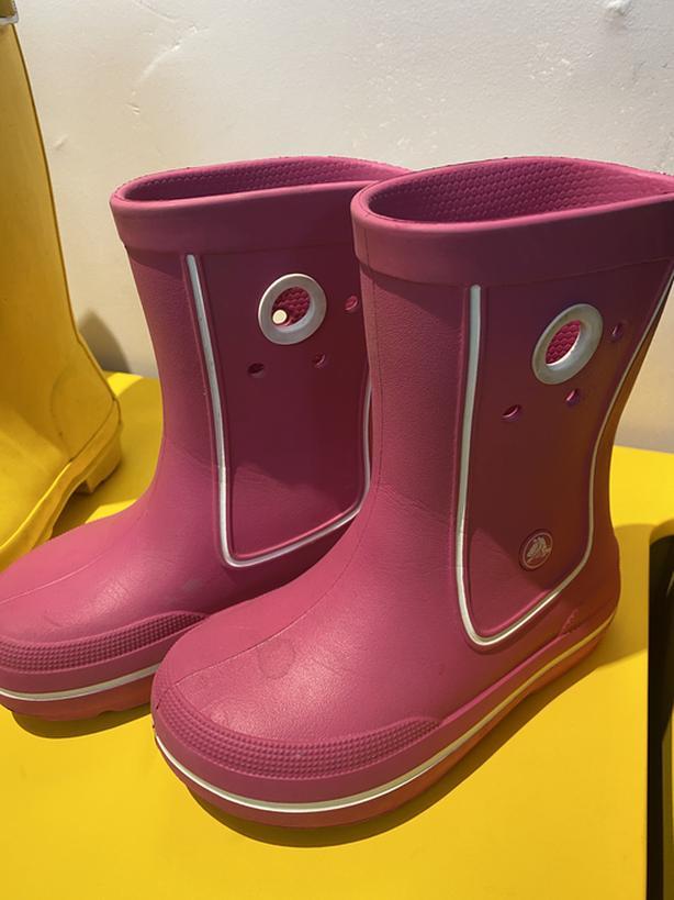 Kids  native shoes and hunter rain boot