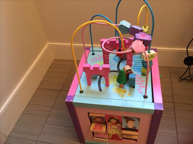 Princess activity cube