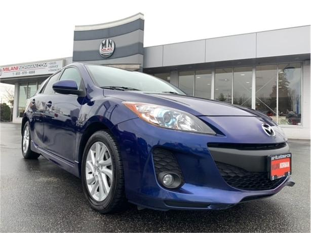 2012 Mazda Mazda3 SPORT HB GS SKY-ACTIVE SUNROOF HEATED SEATS
