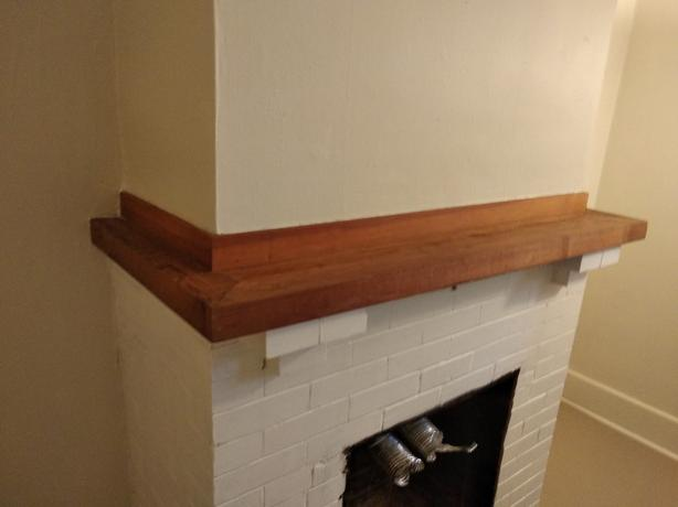 Heritage character fireplace mantel