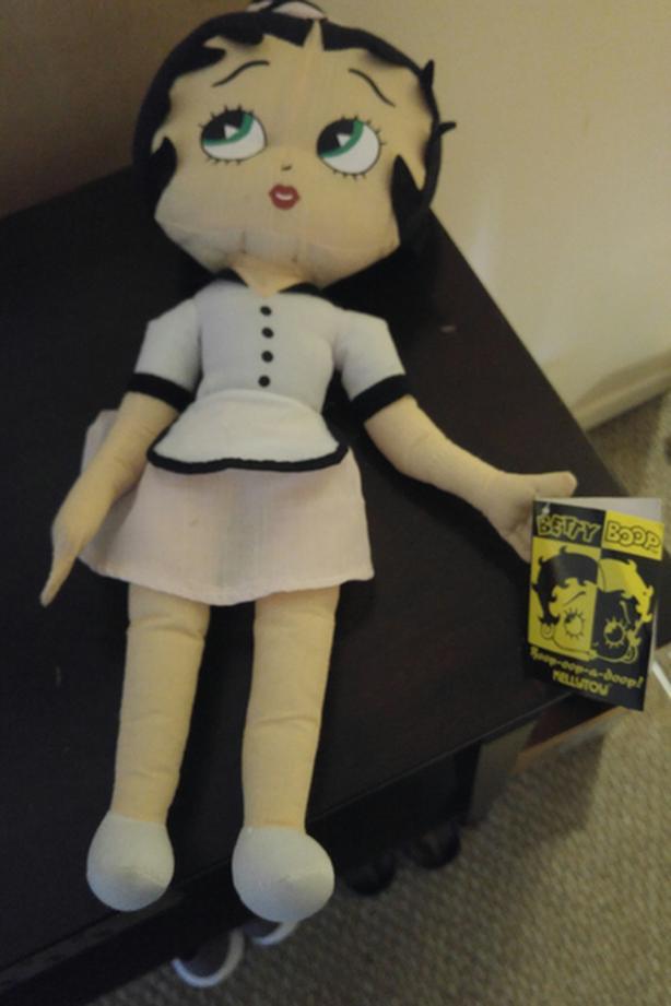 Memorable Betty Boop plush toy