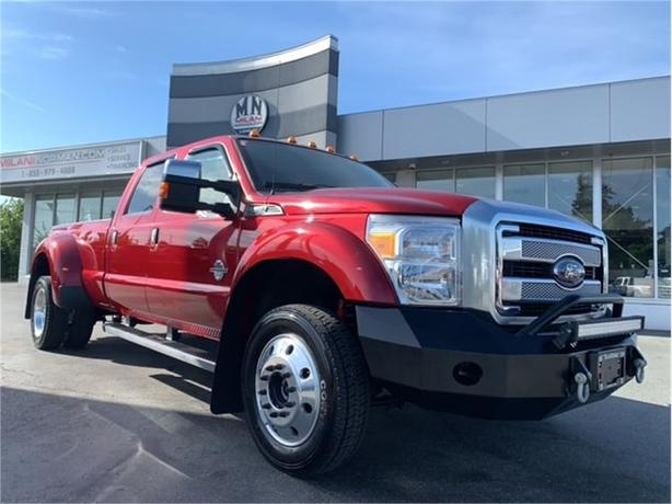 2016 Ford F-450 Platinum 4WD DIESEL DELETED TUNED NAVI SUNROOF