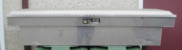 SEAL-TITE ALUMINUM TRUCK TOOL BOX / CARGO STORAGE