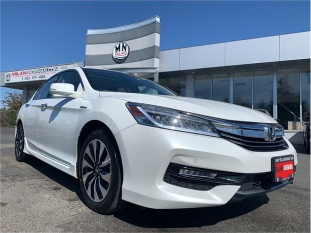 2017 Honda Accord Hybrid Touring SUNROOF LEATHER NAVI ONLY 36KM