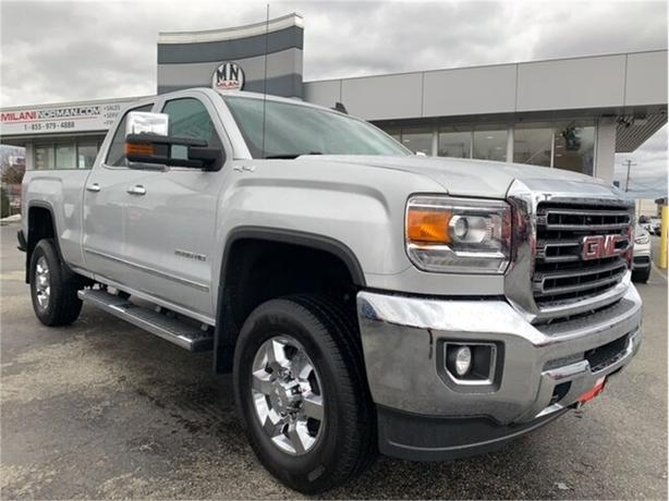 2015 GMC Sierra 2500HD SLT 4WD DIESEL LEATHER ONLY 96KM