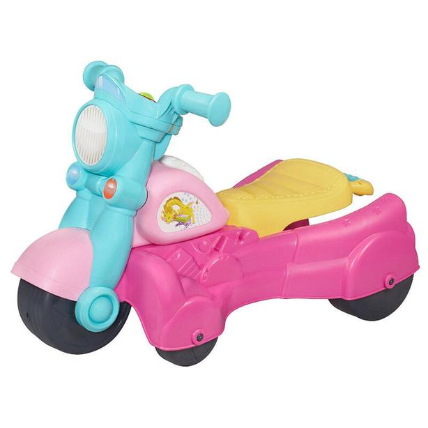 Rocktivity Walk N Roll Rider, Pink by Playskool, motorcycle
