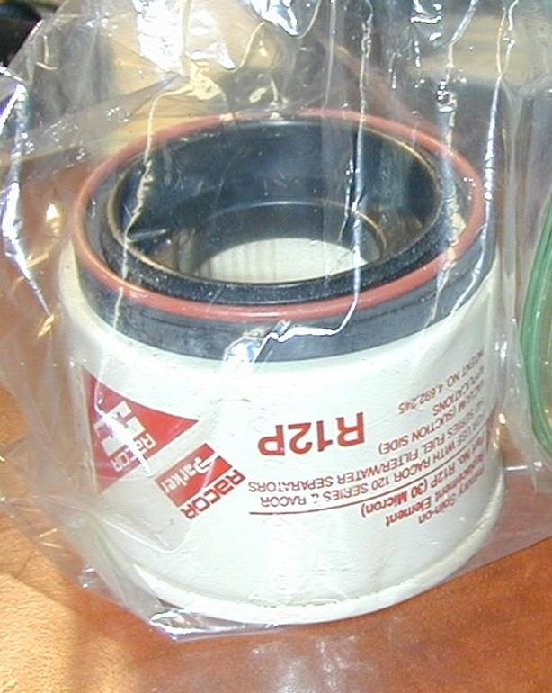 Racor R12P Fuel Filter Water Separator NEW