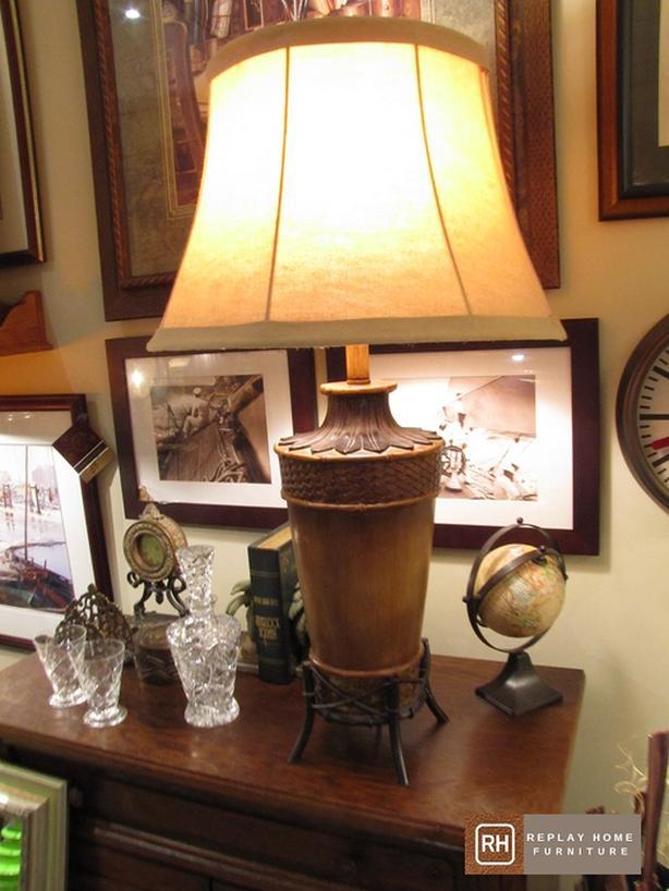 Tri light Eclectic Lamp
