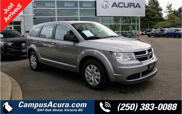 2015 Dodge Journey CANADA VALUE PKG | Island Owned | Accident Free |