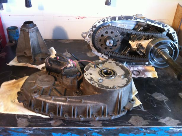 2007 Borg and Warner 4406 transfer case