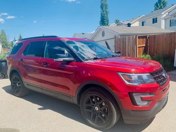 2017 Ford Explorer SPORT -RED -4WD Leather*Dual Roof*Nav*Dual Clim*Ada...