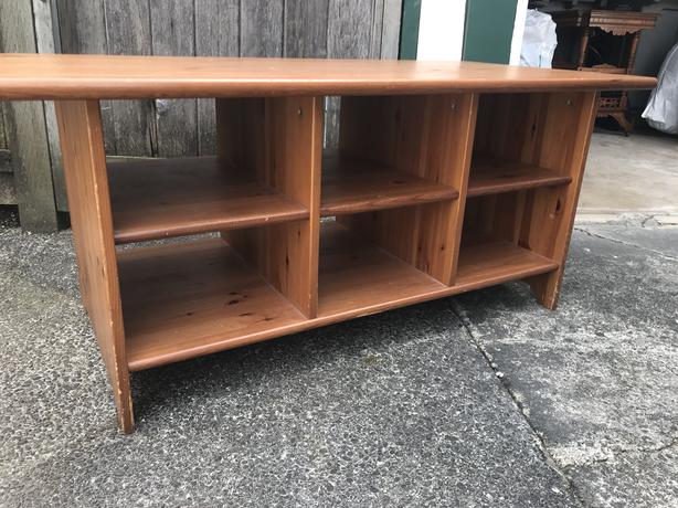 FREE: Wood TV Stand