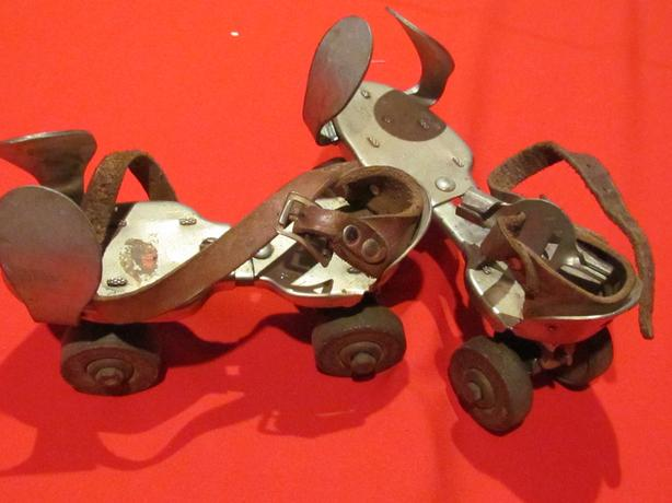 Very Old original roller skates with Key