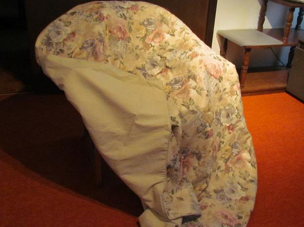 Custom made quilt fits single bed