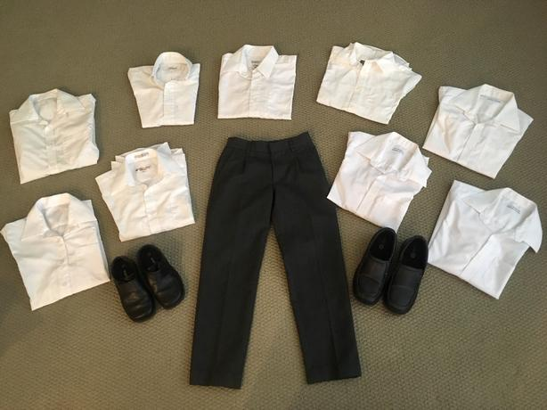 10 PRIVATE SCHOOL (MMA / SMU / GNS) SCHOOL UNIFORM PIECES