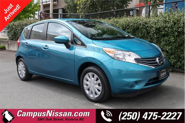 2016 Nissan Versa Note S | Reverse Cam | Bluetooth | One Owner | Local |