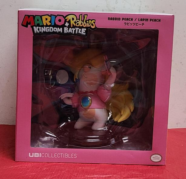 Mario + Rabbids Kingdom Battle Rabbid Peach Figure