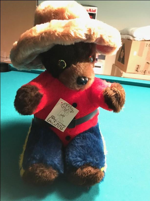 Vintage RCMP plush Bear