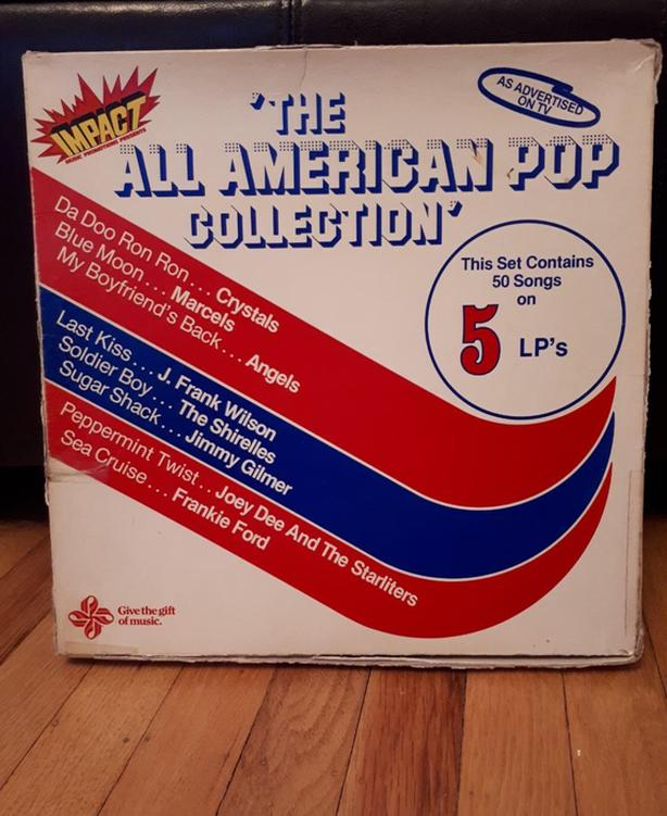 All American Pop Collection (Vinyl)  *PRICE REDUCED!*