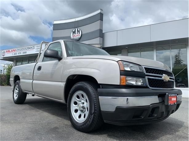 2007 Chevrolet Silverado 1500 REG CAB LONG BOX 4.3L V6 ONLY 125KM