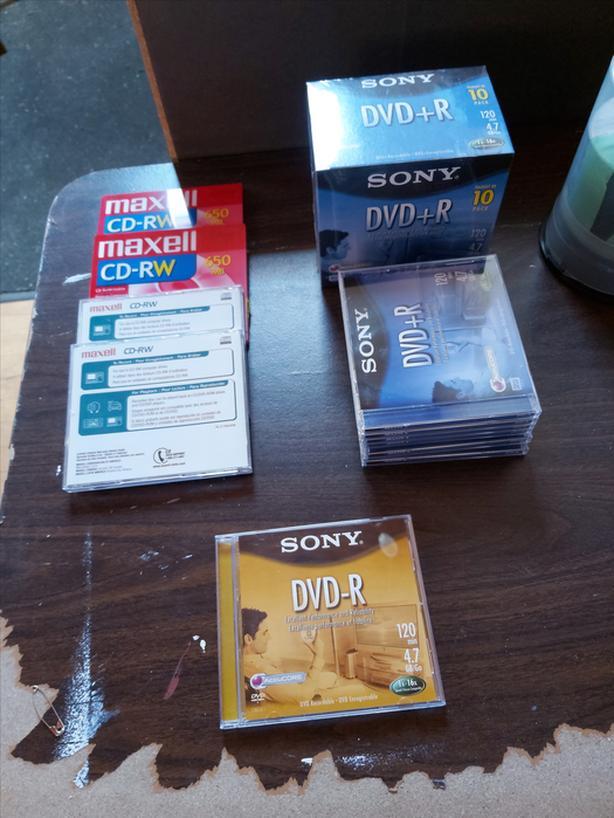 MAXELL DVD Discs CD-RW