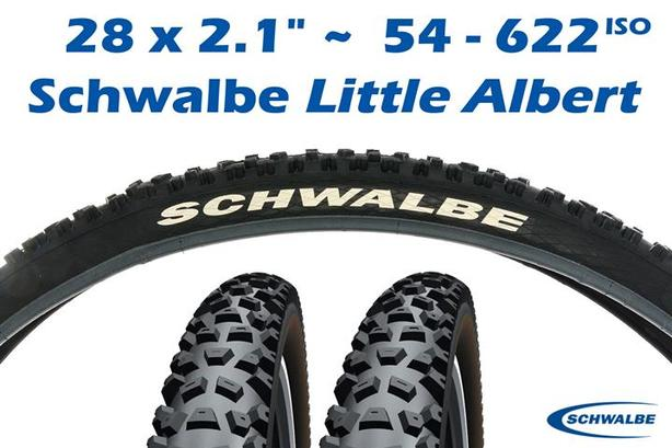 "28 x 2.1 ~ Schwalbe ""Little Albert"" MTB Tires"