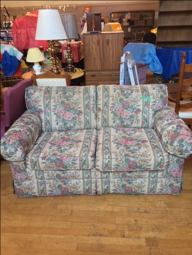 Floral Hide-A-Bed Sleeper Sofa Couch Loveseat