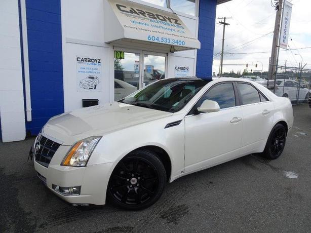 2008 Cadillac CTS AWD 3.6L Nav, Pano Sunroof, Performance Pkg!!