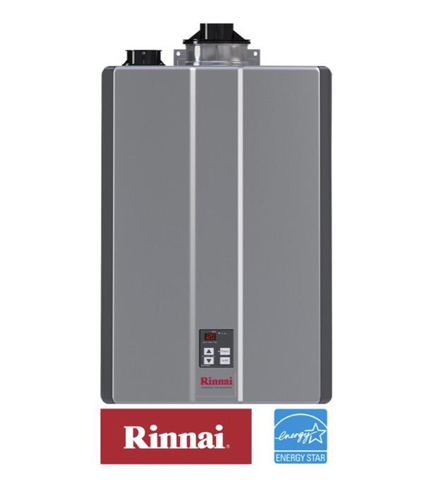 RINNAI TANKLESS WATER HEATERS 12YR PARTS & LABOUR WARRANTY