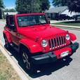 Super Hot Red Jeep On Deck for YOU!