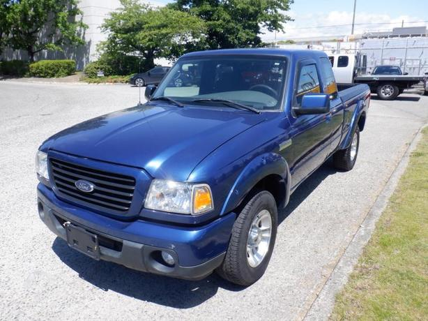 2009 Ford Ranger Sport SuperCab 4-Door 2WD 5-Speed Manual