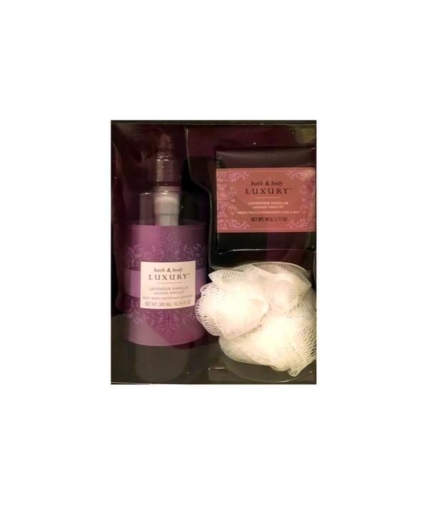 Lavender Vanilla Body Wash & Fizzer Gift Set