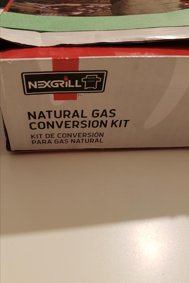 BBQ propane to natural gas converter kit