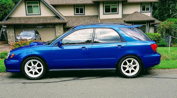 2003 Subaru WRX 5 spd Wagon for Sale