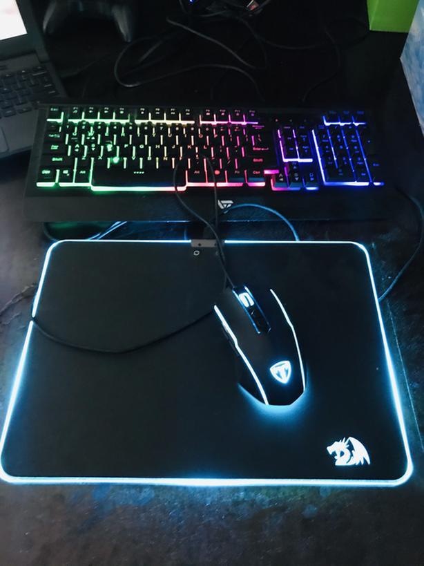 Mouse, Mousepad, Keyboard