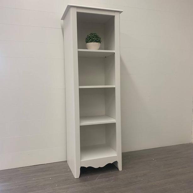 White Storage/Display Cabinet
