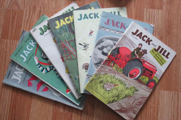 23 Issues -Jack & Jill Magazines from '50's
