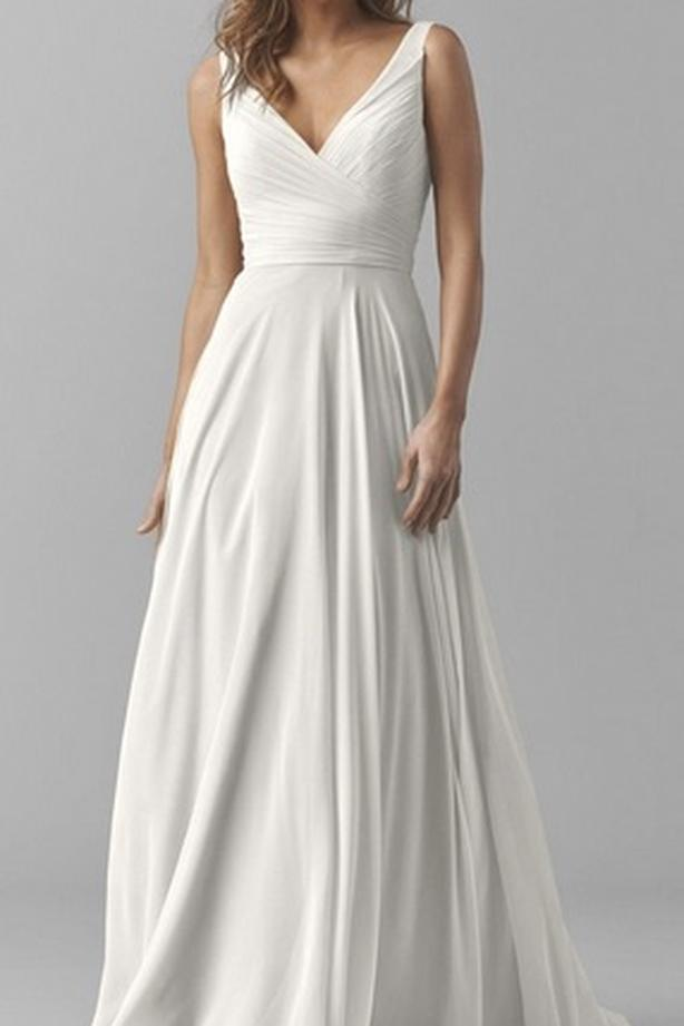 "Wedding Dress - Watters ""Karen"" Size 8"