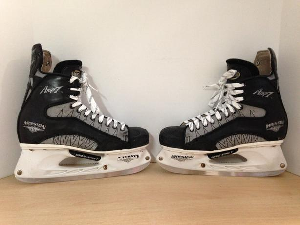 Hockey Skates Men's Size 11 Shoe Size Mission Amp 7 Fantastic Quality