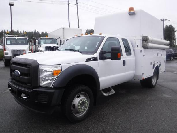 2011 Ford F-450 Xl Sd Super Cab Dually 4WD Service Truck Diesel