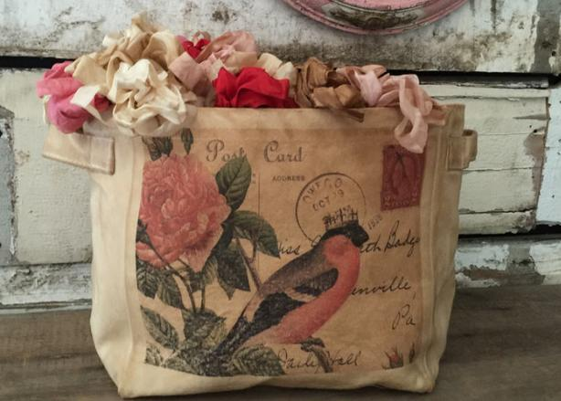 Decorative Aged Storage Bags