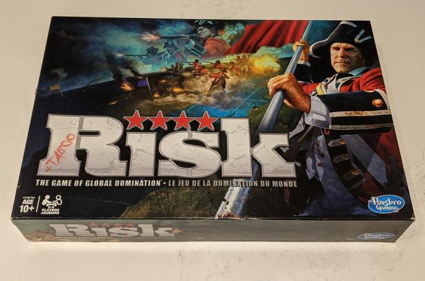 Risk Board Game 2010 Game Of Global Domination Family Game Strategy Good Cond