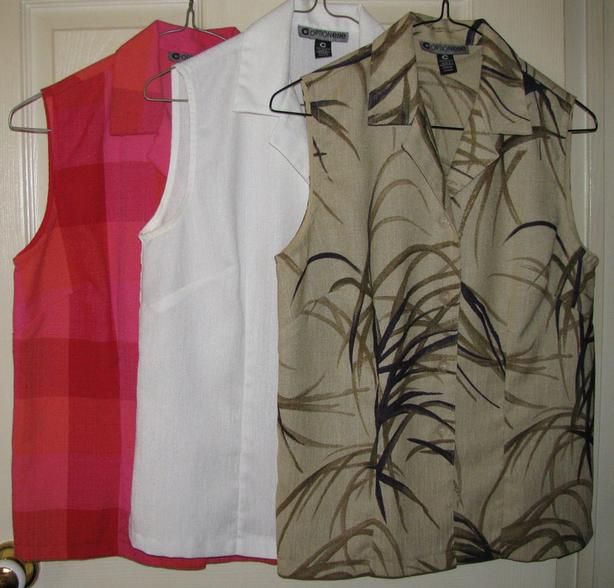 Optionelle Designer Tops Shirts Blouses T-Shirt Made In Canada Sz Sm 5PC Mix HTF