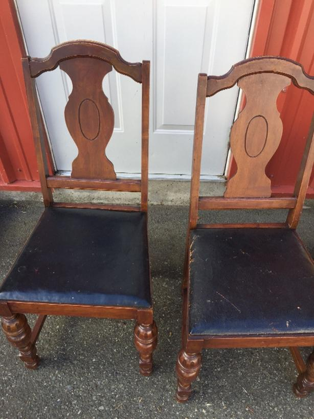 DIY Wooden Dining Chairs Project