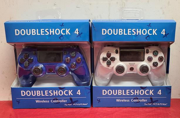 Wireless DoubleShock PS4 Controllers