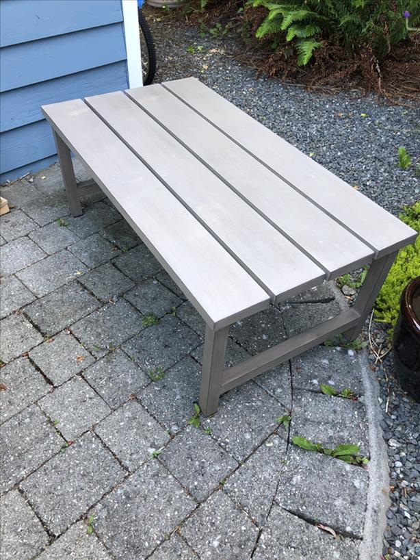 Patio Table Aluminum